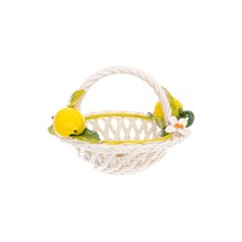 Корзина круглая Orgia Лимоны 20 см