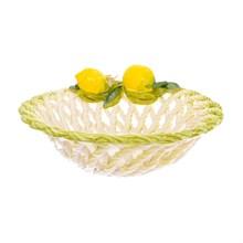 Блюдо круглое Orgia Лимоны 28 см