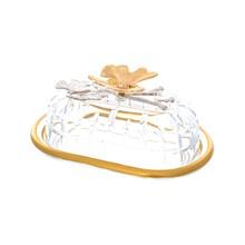 Масленка Zes Dekor Бабочки Butterflies White