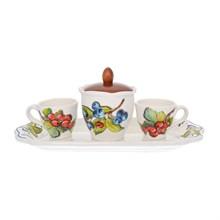 Кофейный набор на подносе NUOVA CER Лесные ягоды 5 предметов