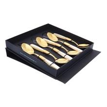 Набор десертных ложек Domus Victoria gold (6 шт)