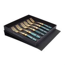 Набор десертных вилок Domus Victoria gold (6 шт)