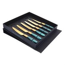 Набор десертных ножей Domus Victoria gold (6 шт)