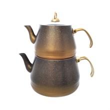 Набор чайников с а/п покрытием: заварник 1,8л, чайник 3,75л OMS