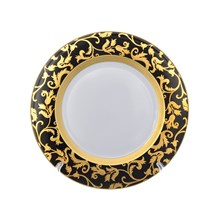Набор тарелок Tosca Black Gold 27 см (6 шт)
