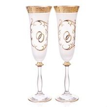 Набор свадебных фужеров для шампанского Bohemia (2шт) 220мл