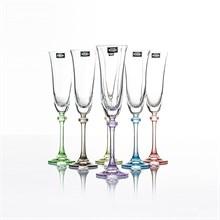 Набор фужеров для шампанского 190 мл ASIO/ALEXANDRA Арлекино (6 шт)