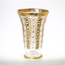Ваза золото Bohemia Max Crystal 40 см