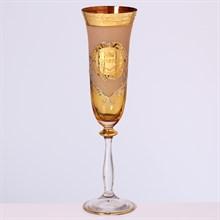 Анжела набор фужеров для шампанского  Crystalite Bohemia Версаче (6 шт)