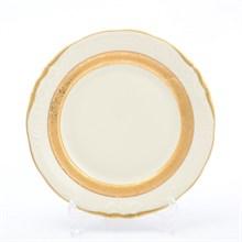 Набор тарелок 19 см Матовая лента Слоновая кость Sterne porcelan (6 шт)