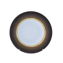 Набор глубоких тарелок 23 см Rio black gold (6 шт)