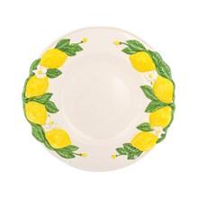 Блюдо круглое Annaluma Лимоны 38 см