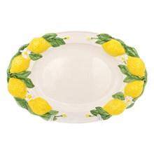Блюдо овальное Annaluma Лимоны 36*25 см