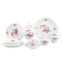Чайный сервиз на 12 персон Bernadotte Полевой цветок 43 предмета