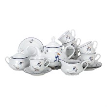 Чайный сервиз Thun Констанция Гуси 6 персон 17 предметов