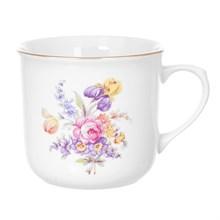Кружка большая котелок DUBI Полевой цветок