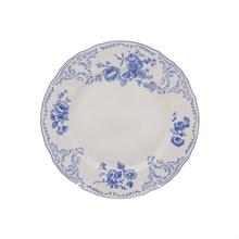 Набор тарелок Bernadotte Синие розы 25 см(6 шт)