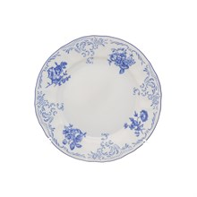 Набор тарелок Bernadotte Синие розы 17 см(6 шт)