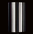 Никелевый стаканчик плафон для люстры 84 мм