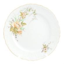 Набор тарелок Bernadotte Зеленый цветок 21 см (6 шт)