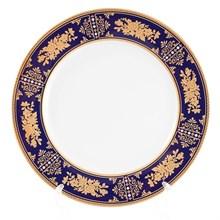 Набор тарелок Thun Луиза Золотая роза Кобальт 19см (6 шт)