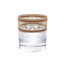 Набор стаканов для виски Astra Gold Allegro Fiesole Golden Light Decor 290мл (6 шт)