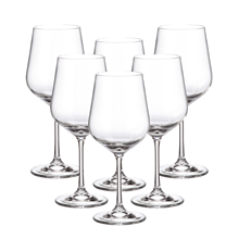 Набор бокалов для вина Crystalite Bohemia Strix/Dora 580 мл (6 шт)