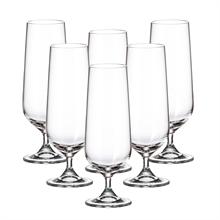 Набор бокалов для пива Crystalite Bohemia Strix/Dora 380 мл (6 шт)
