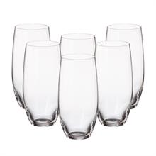 Набор стаканов для воды Crystalite Bohemia Mergus/Pollo 470 мл (6 шт)