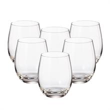 Набор стаканов для воды Crystalite Bohemia Mergus/Pollo 220 мл (6 шт)