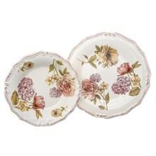 Набор тарелок из 2-х шт LCS Сады Флоренции (глубокая 24 см., подстановочная 25 см)