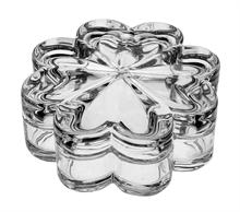 Шкатулка хрустальная Цветок 12,8 см Bohemia Crystal BOXES