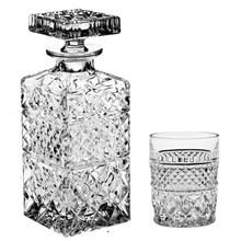 Набор для виски Bohemia Crystal (штоф 700 мл и 6 стаканов 240 мл) MADISON