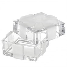 Доза - шкатулка с матовым бантом, 7,2 см BOXES