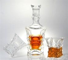 Набор для виски, 1 штоф 700 мл + 6 стаканов (240 мл) X-LADY