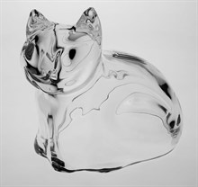 "Копилка ""Кошка"", 17,5 см хрусталь ANIMALS"