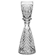 "Графин с рюмкой 140мл Bohemia Crystal ""One man bottle"""