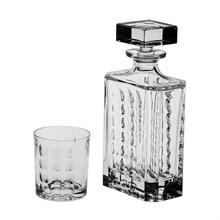 "Набор для виски ""Scale"": 1 штоф 700 мл + 6 стаканов 320 мл"