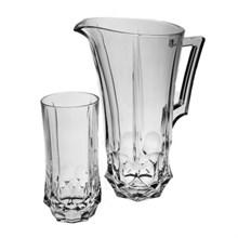 Набор для воды: Кувшин+ 6 стаканов 350 мл SOHO