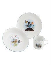 """Детский набор """"Cairo"""", 3 предмета; декор """"Крот и мяч""""; в подар. упаковке"""