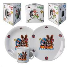 """Детский набор """"Cairo"""", 3 предмета; декор """"Крот и друзья""""; в подар. упаковке"""