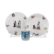"Детский набор ""Cairo"", 3 предмета; декор ""Крот и ракета""; в подар. упаковке"