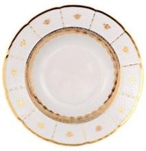 """Набор тарелок глубокая 23 см 6 штук; """"Menuet"""", декор """"Золотой орнамент"""","""