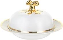 """Масленка; """"Menuet"""", декор """"Отводка золото, золотые держатели"""""""