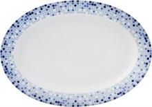"""Блюдо овальное 36 см; """"Opal"""", декор """"Мозаика"""""""