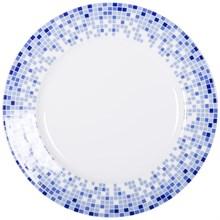 "Набор тарелок глубокая 22 см  6 штук; ""Opal"", декор ""Мозаика"""