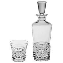 "Набор для виски Bohemia Crystal ""Trinity"" (штоф 700 мл и 6 стаканов 320 мл)"