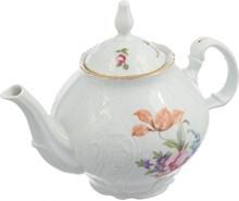 "Чайник 1200 мл; ""Bernadotte"", декор ""Мейсенский букет"""