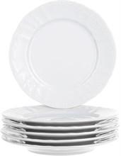 """Набор тарелок десертная 17 см 6 штук; """"Bernadotte"""",недекорированная"""