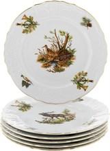 Набор тарелок 21 см Bernadotte Охотничьи сюжеты (6 штук)